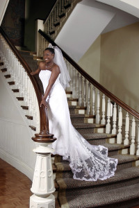 A bridal photo session lets you share with your new husband the events before the wedding he wasn't allowed to see.